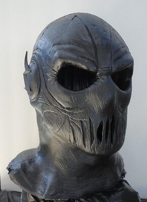 Zoom mask flash cw dc latex full head bolts hunter zolomon w/out chest emblem
