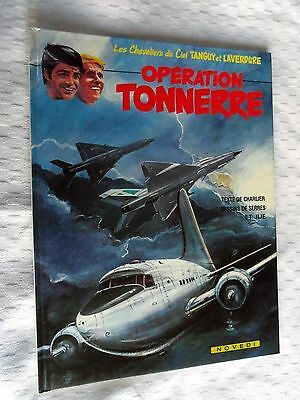 Album Bd    Tanguy Et Laverdure   Operation Tonnerre