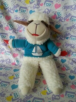 Lamb Chop's Fables The Boat Contest Shari Lewis Book Exclusive Plush Puppet 1993