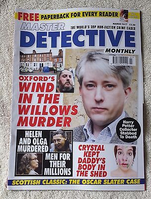 MASTER DETECTIVE MONTHLY MAGAZINE March 2017 True Crime Murder Criminal Police