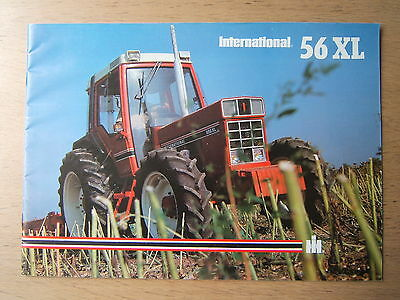 Prospectus  tracteur IH International