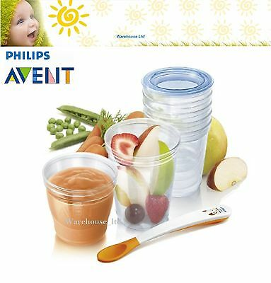 Philips AVENT Toddler SCF720/10 VIA Baby Food Storage Set-Brand New