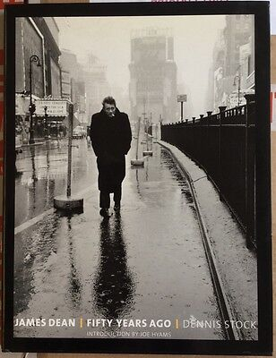 James Dean: Fifty Years Ago By Dennis Stock - Hardback