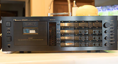 Nakamichi DRAGON Cassette Deck - Willy Hermann Serviced - Perfect Condition LOOK