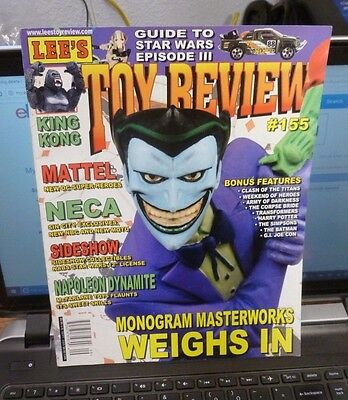 Lee's Toy Review Magazine Sept 2005 #155 - King Kong / Star Wars Episode 3/ Dc +