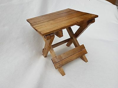 Wooden Fisherman's Stool