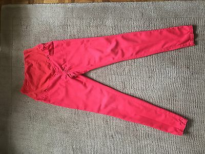 Red Maternity Jeans Size 10