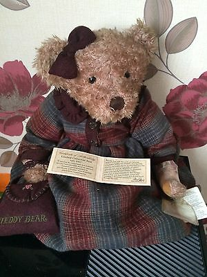 Russ Bear Retired Vintage Collection Lady Eleri