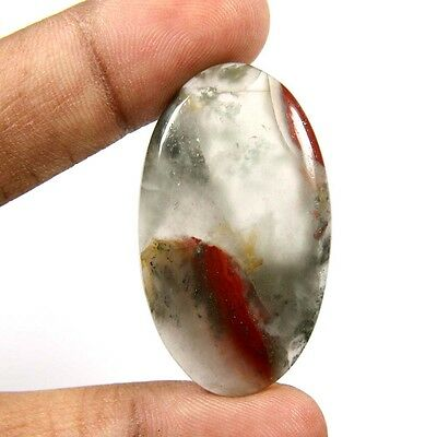 42.30 cts Superb Natural Rare African Bloodstone Oval Loose Gemstone Cabochon