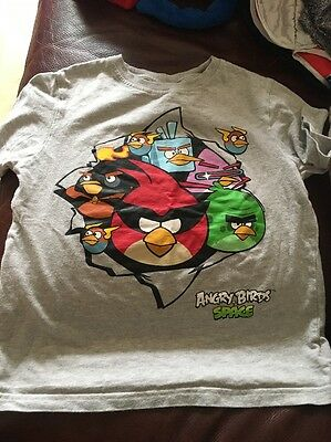 Angry Birds Next T'shirt Aged 8