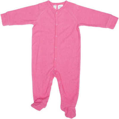 NEW Dymples Baby Terry Coverall - Dark Pink
