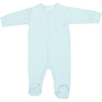 NEW Dymples Baby Terry Coverall - Light Blue