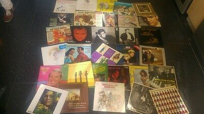 Collection of 31 vintage vinyl lp's