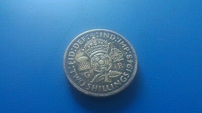 1943 two shilling coin