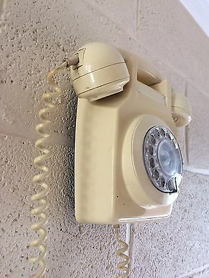 Vintage BT Telephone Wall Hanging Cream 1981