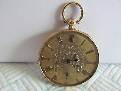 vintage Swiss pocket watch solid silver and gilded good condition and working