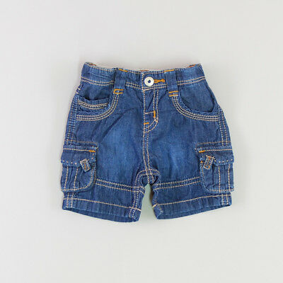 Bermuda color Denim oscuro marca Chicco 6 Meses