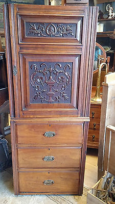 Antique Victorian Compactum Wardrobe Piece