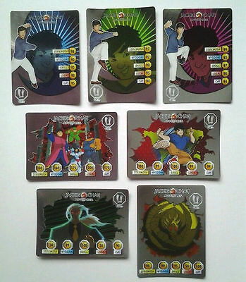 Jackie Chan Adventures Trading Card Collection - Special Shiny Cards