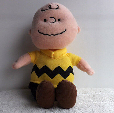 TY Charlie Brown Soft Toy - Peanuts / Snoopy