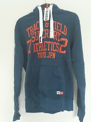 New men's Superdry hoodie small