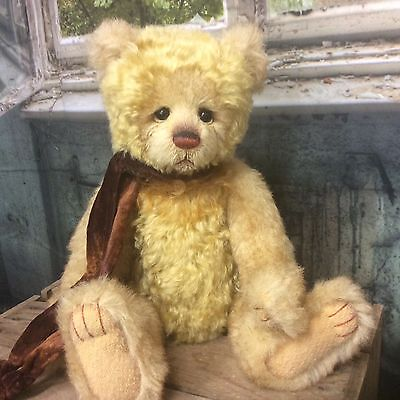 Charlie Bears Butty 14.5 Inch Mohair/alpaca Jointed Bear L/e 400 New For 2017