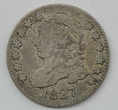 1827 Capped Bust One Dime *Q14