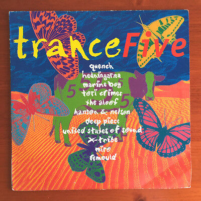 Trance Five Compilation 2xLP 1994 - Rumour Records ‎– RAID 515 Series: