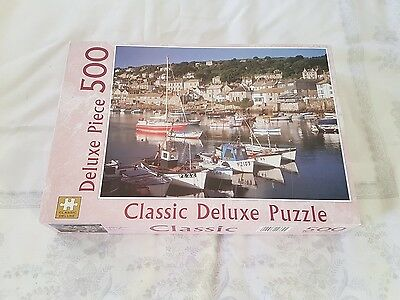 Classic Deluxe 500pc Mousehole, Cornwall Puzzle - Used