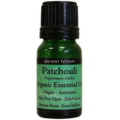 Organic Patchouli Essential Oil Aromatherapy Massage Bath Fragrance Oil 10ml