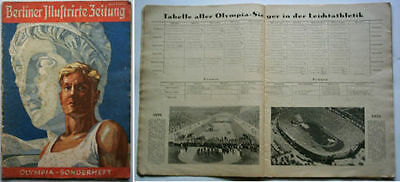 Orig.PRG / Official Preview   XI.Olympic Games BERLIN 1936  !!!  EXTREM RARE