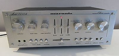 Marantz 3250B Preamp ( Pre-Amp ) Works Perfect Serviced W/caps