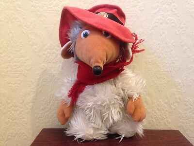 official the wombles orinoco soft plush toy 10 inch