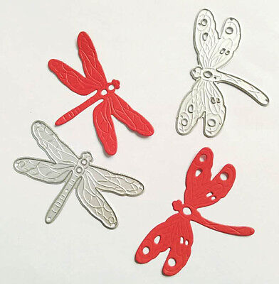 Dragonfly Metal Cutting Dies DIY Scrapbooking Embossing Paper Cards Stencil 2pcs