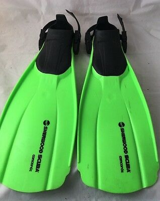 Sherwood Scuba Concorde Snorkelling Scuba Diving Fins / Flippers Size Small