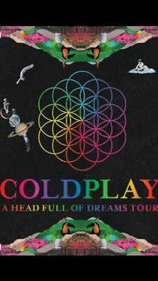 2 Coldplay standing tickets for Croke Park 8th July