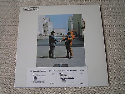 Pink Floyd ‎– Wish You Were Here - promotional copy with timestrip - excellent