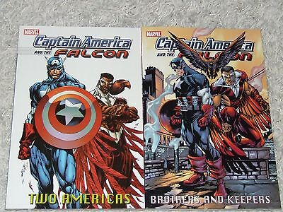 Captain America and The Falcon TPB - Volumes 1 & 2 (2004 Marvel, complete set)