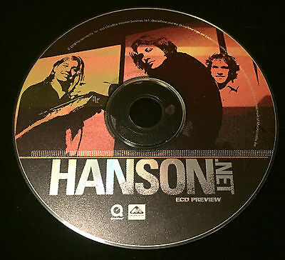 Hanson's HANSON.NET Fan Club ECD Preview from 2000 - RARE!