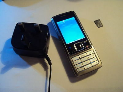 Original Nokia 6300  METAL  MOBILE PHONE  UNLOCKED +ACCESSORIES