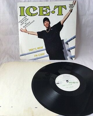 "Ice T - That's How I'm Livin : 12"" Vinyl:  Gangsta / Hip Hop"