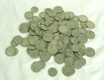 1kg of George VI Shillings and Florins 1947 TO 1951