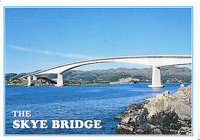 Scotland Postcard - The Skye Bridge - Seen from The Isle of Skye   AB2574