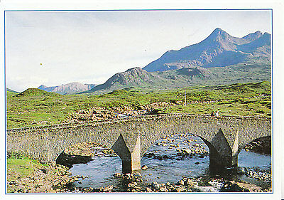 Scotland Postcard - The Bridge at Sligachan - Isle of Skye   AB2575