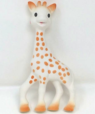 Vulli Sophie the Giraffe Baby Teether Natural Rubber Pacifier NEW