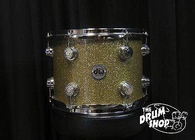DW Collector's 12'' x 9'' Maple Tom  Gold Glass Finish Ply