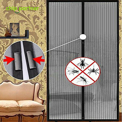 1PC Flux Phenom Reinforced Magnetic Screen Door Anti-mosquito Winged Insect Tool