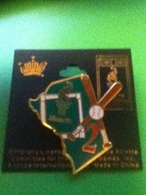 Atlanta 1996 Day 2 baseball AMINCO Official Olympic Pin!  Mint on Card!  Look!