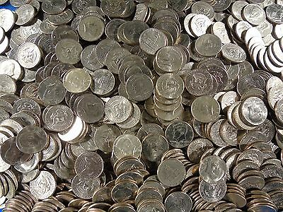 100 Unsearched Kennedy Half Dollars FROM ESTATE $50 FV   SALE 1-5-5