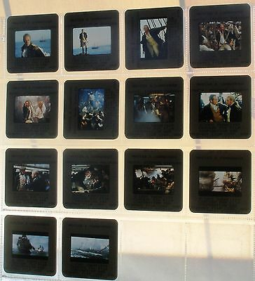 MASTER AND COMMANDER (2003) Russell Crowe Paul Bettany 14 rare original slides